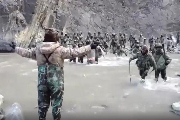 缩略图 | 2020中印加勒万河谷边境冲突:解放军与数倍于己的外军殊死搏斗,4人牺牲、1人负伤!