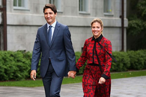 缩略图 | 加拿大总理夫人苏菲宣布已痊愈:两周前确诊感染新冠肺炎