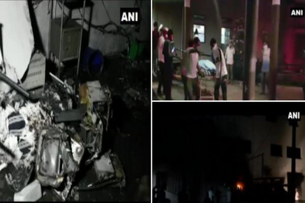 缩略图 | 印度10天4医院沦火海,新冠病人躺床上活活烧死
