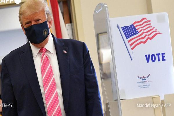 缩略图 | 特朗普:我刚刚投票了,投给了一个叫特朗普的人